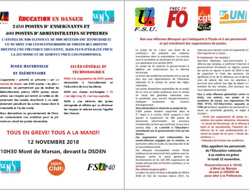 Journée de grève et d'action du 12 novembre