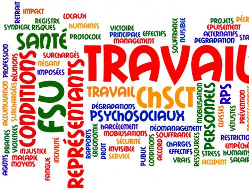 CHSCT – Travaux dans le département
