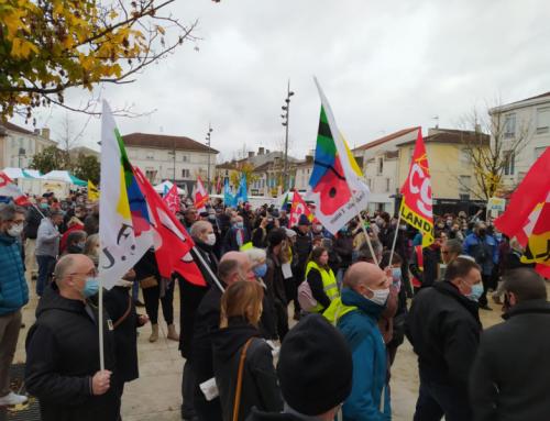 23 septembre manifestation à Mont de Marsan