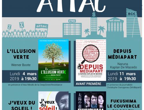 Festival Cinéma « MARS ATTAC 2019 » au Grand Club de Dax