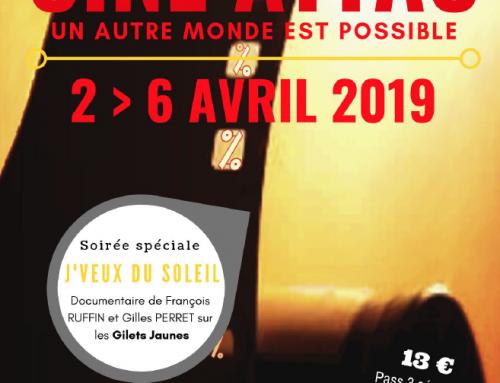 Le programme ciné attac marsan du 2 au 6 avril 2019